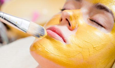 Что такое жёлтый пилинг лица