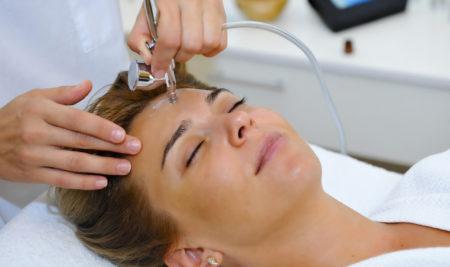 Кислородная терапия для лица